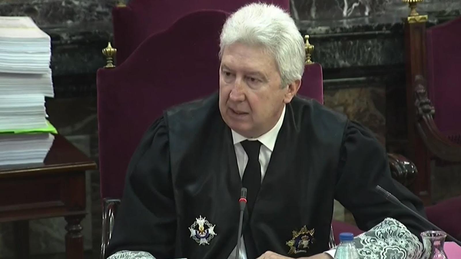 """Fidel Cadena, fiscal: """"Aquest és el judici del triomf de la democràcia"""""""