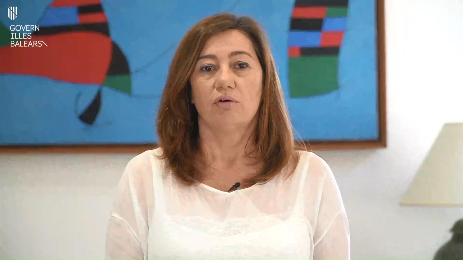 Vídeo de Francina Armengol