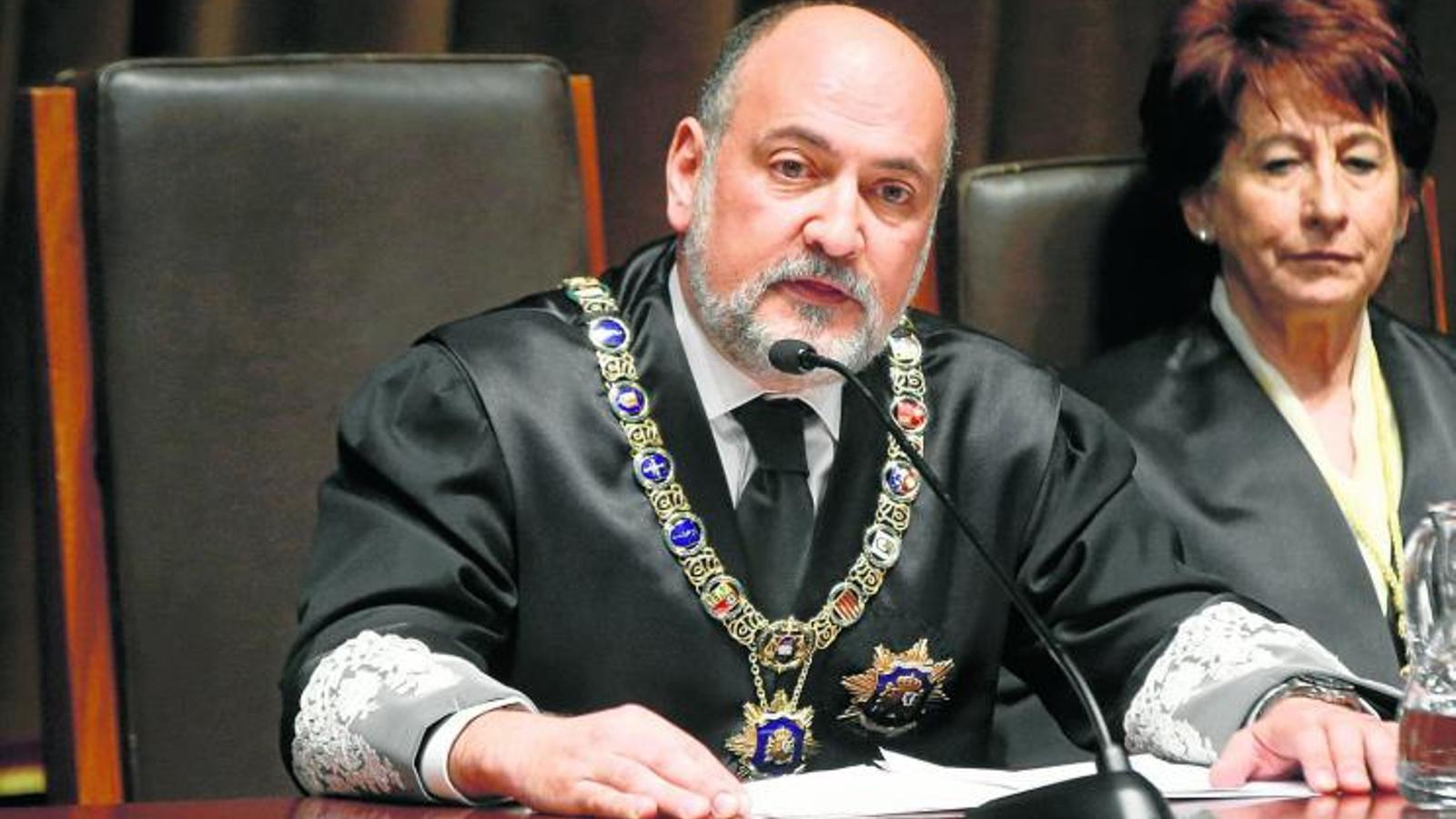 Pérez de los Cobos no rep cap vot en la prova per ser jutge del Tribunal d'Estrasburg perquè no sap anglès ni francès