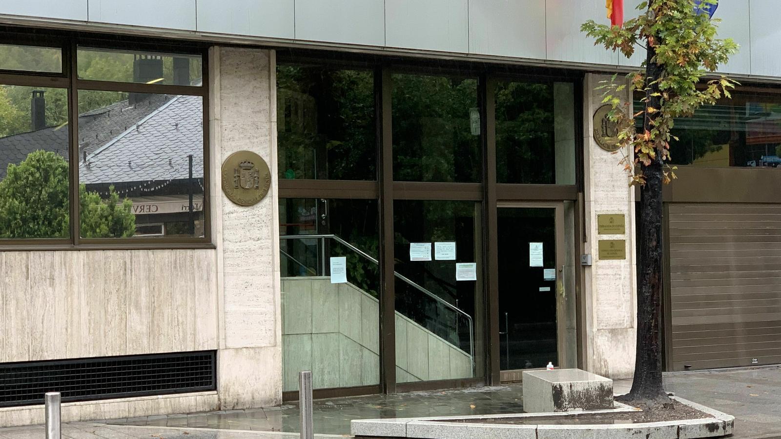 L'Ambaixada d'Espanya a Andorra. / C. A.