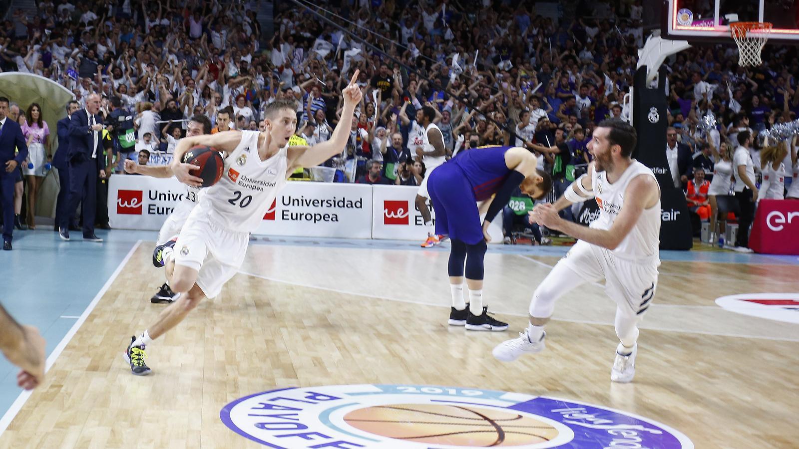 Celebració del Reial Madrid