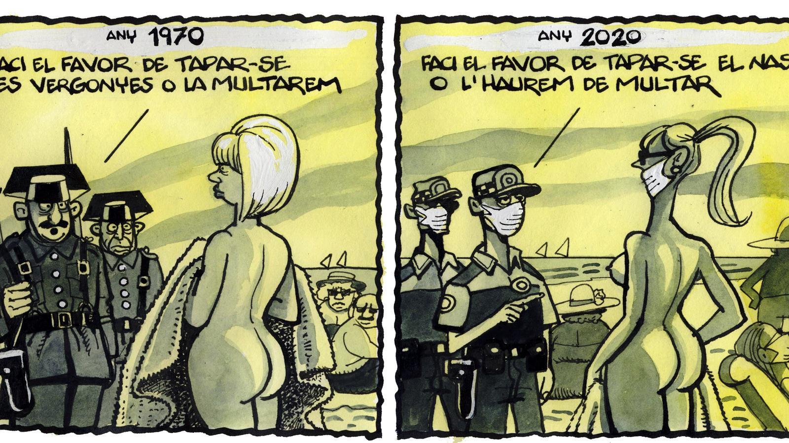 'A la contra', per Ferreres 24/09/2020
