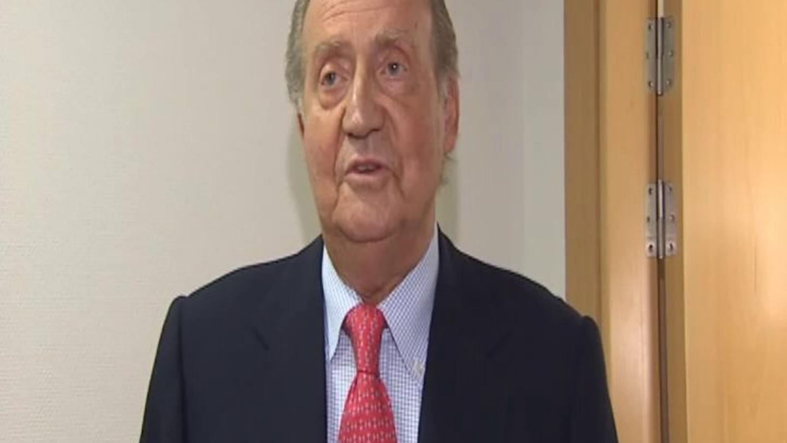 El 'mea culpa' del rei Joan Carles I (vídeo complet)