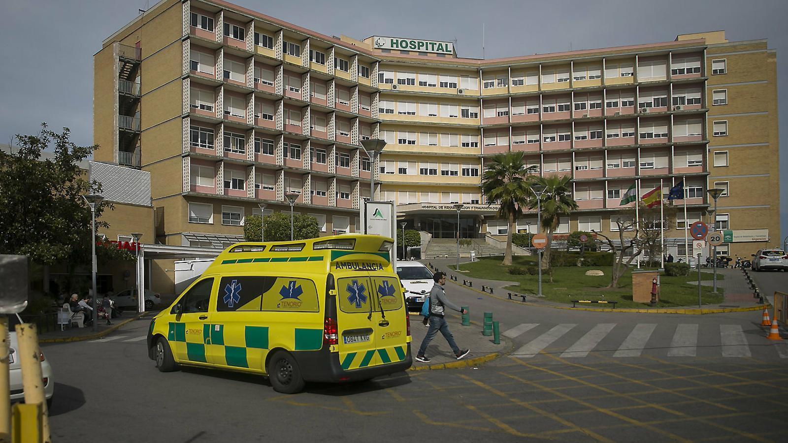 L'Hospital Virgen del Rocío, on estava ingressat el pacient que ja ha rebut l'alta.
