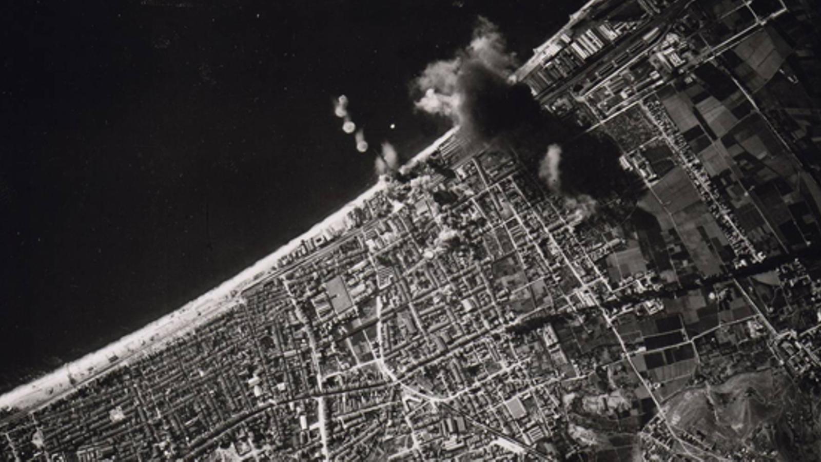 Bombardejos sobre Barcelona el 17 de març de 1938