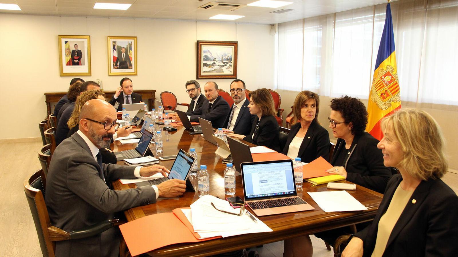 La primera reunió del consell de ministres d'aquesta legislatura. / C. G. (ANA)
