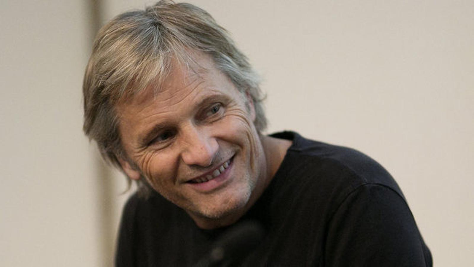 L'actor Viggo Mortensen, nou soci d'Òmnium