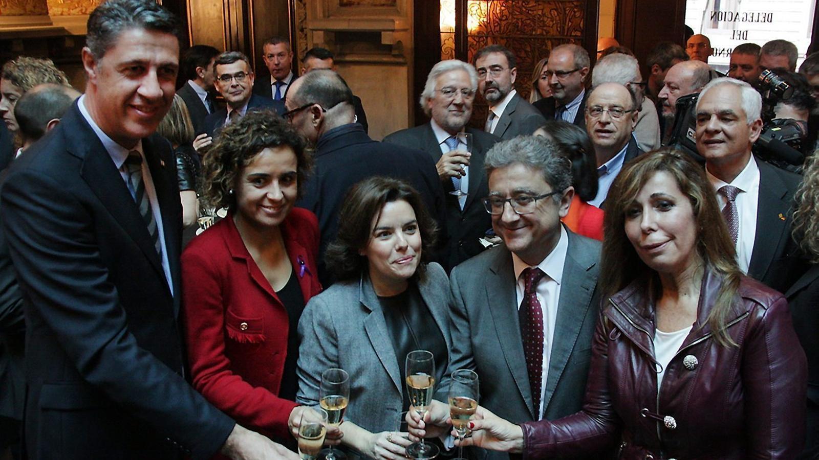 La doble via de Rajoy per reduir l'independentisme al 30%, i quatre claus del dia
