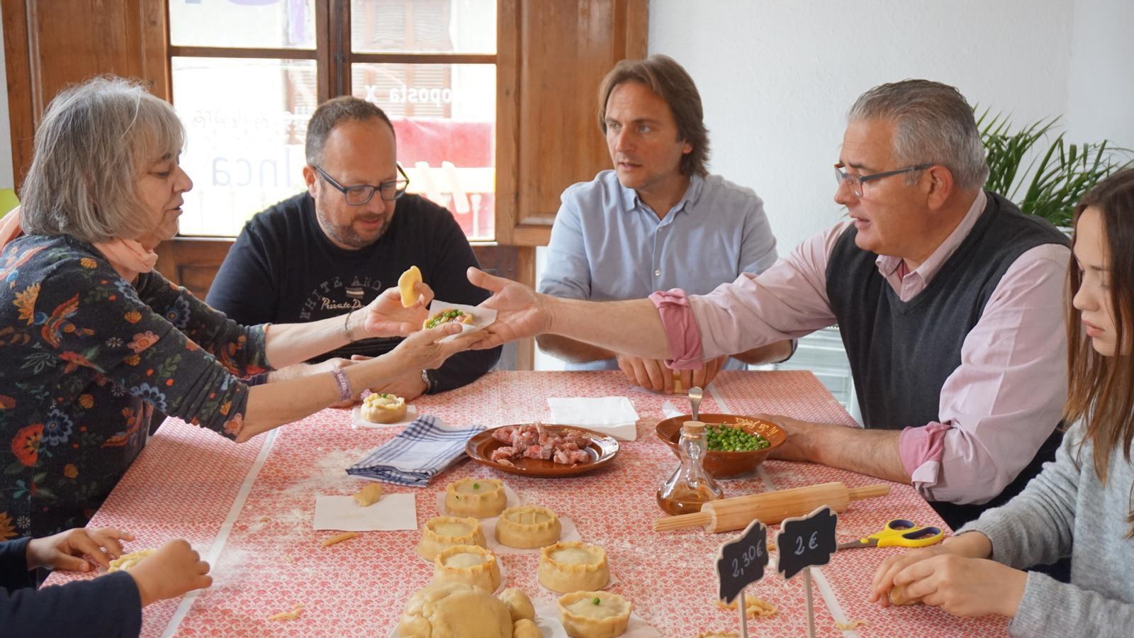 Joan Miralles i Jaume Font s'han desplaçat a Inca, on han fet panades.