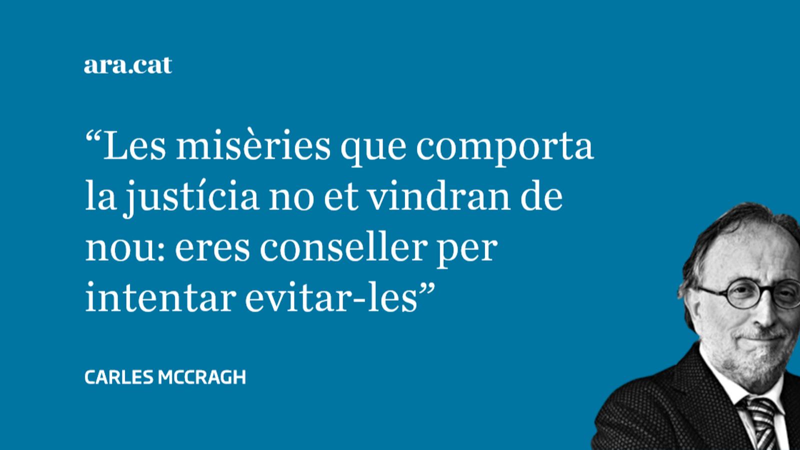 Carta oberta al conseller Carles Mundó