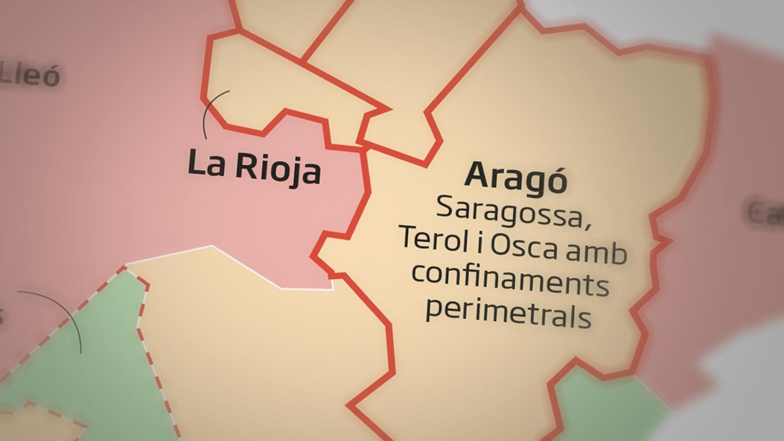 Cinc comunitats autònomes es blinden amb tancaments perimetrals