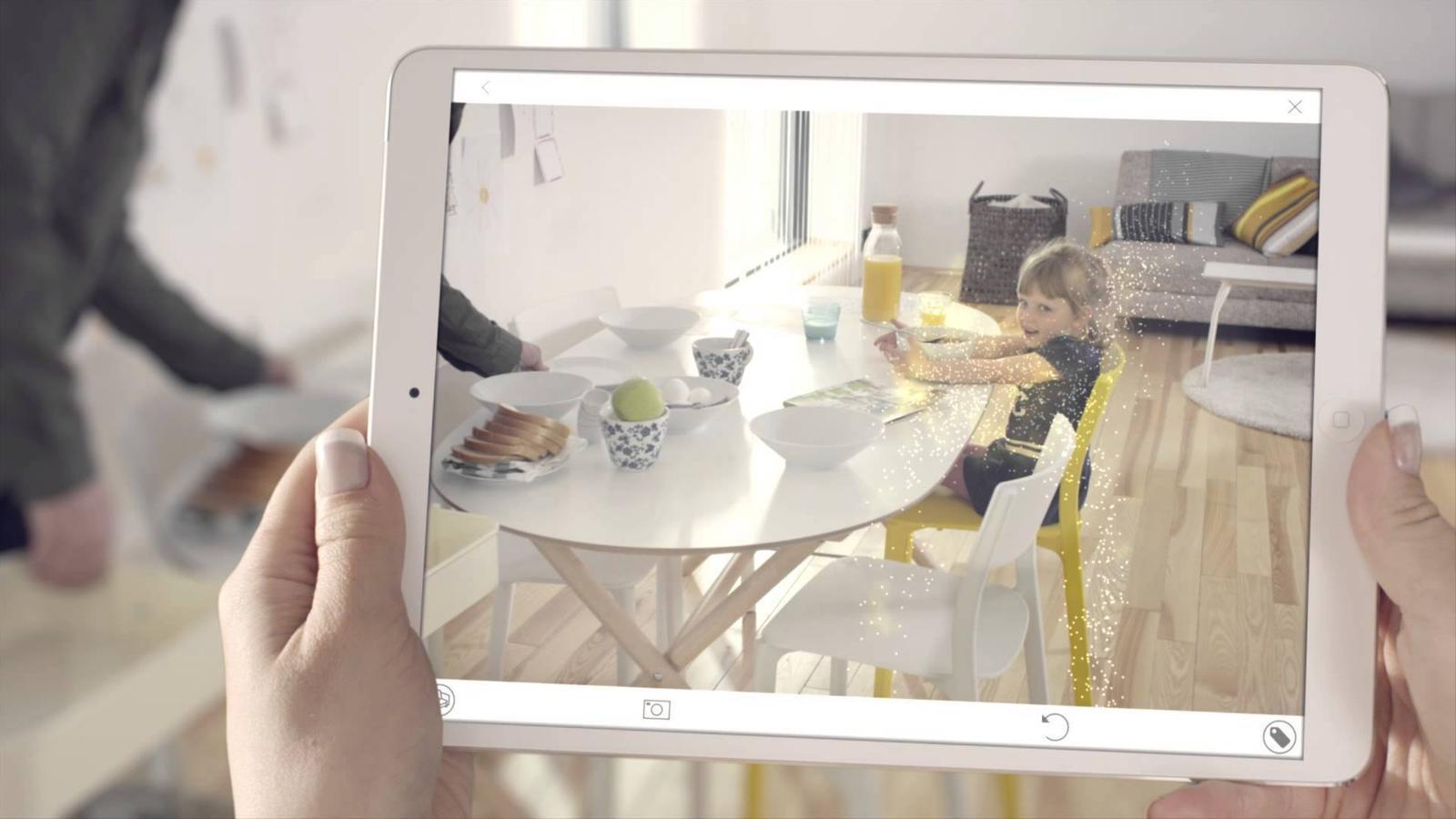 El catàleg de realitat augmentada d'Ikea
