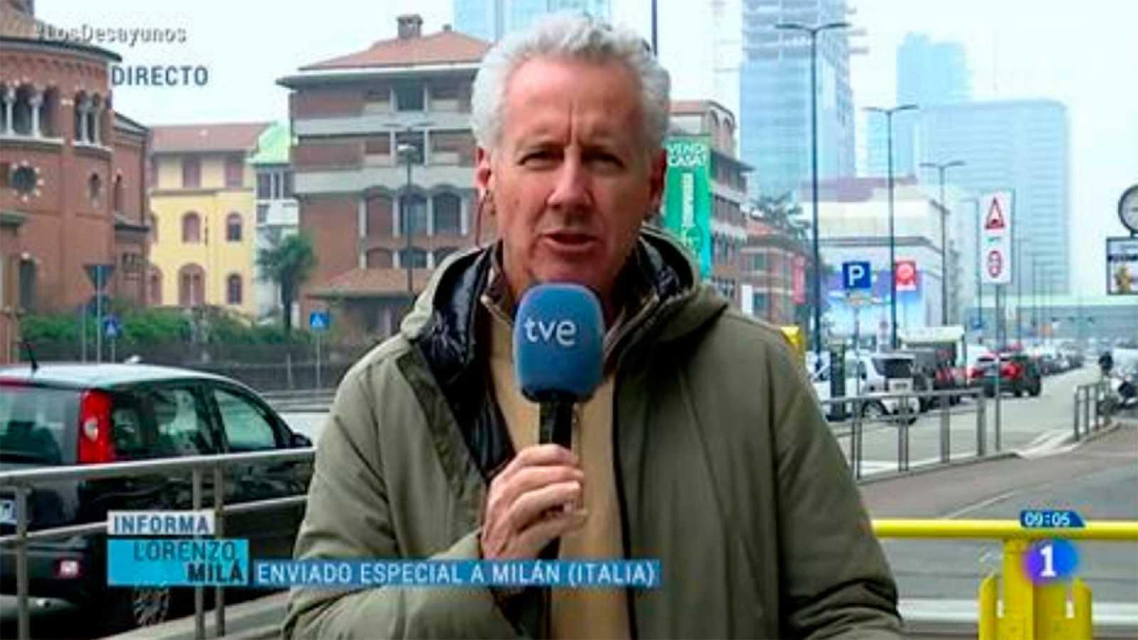 Lorenzo Milá deixarà la corresponsalia de TVE a Roma després de sis anys
