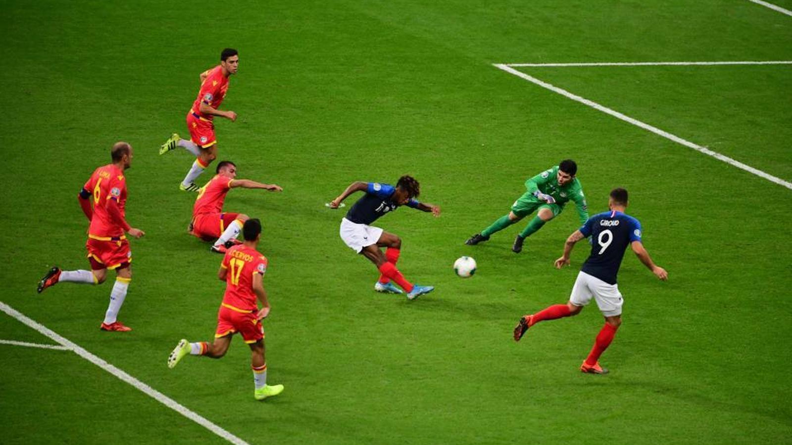 El partit entre les seleccions de França i Andorra / ARA ANDORRA