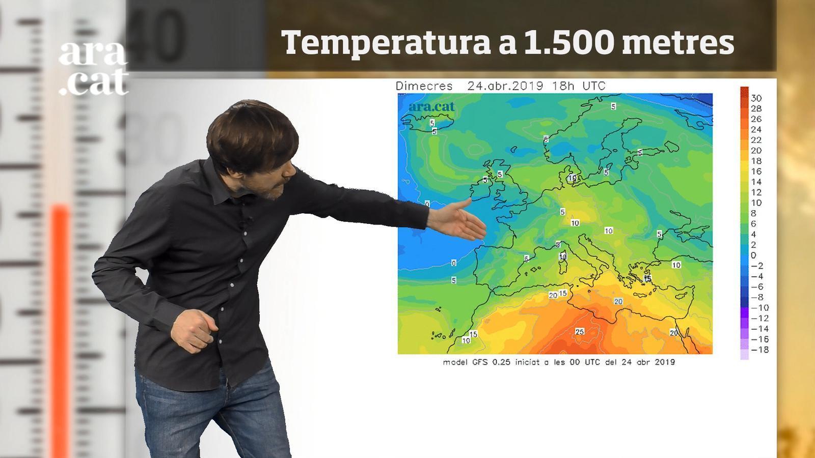 La méteo en 1 minut: més clarianes però temperatures a ratlla