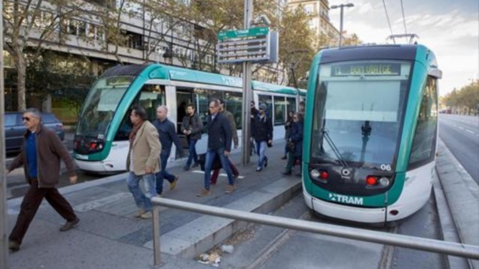 La UPC preveu que el tramvia per la Diagonal no entorpirà el trànsit de la resta de vehicles