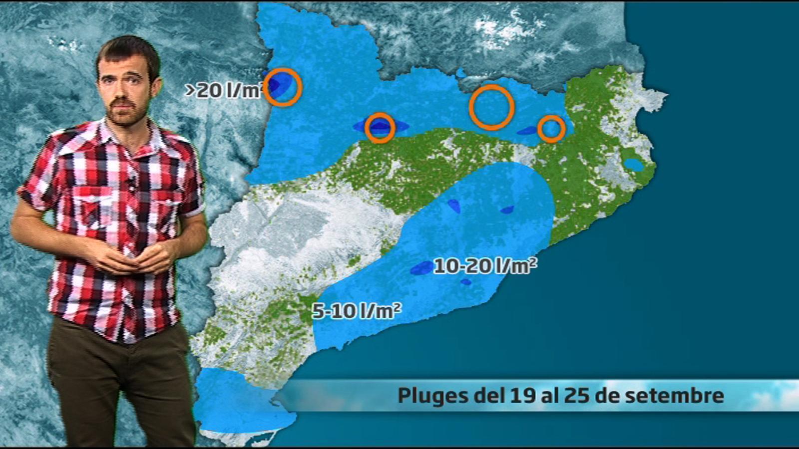 La méteo del boletaire: repassem les pluges de fa 20 dies (06/10/2011)