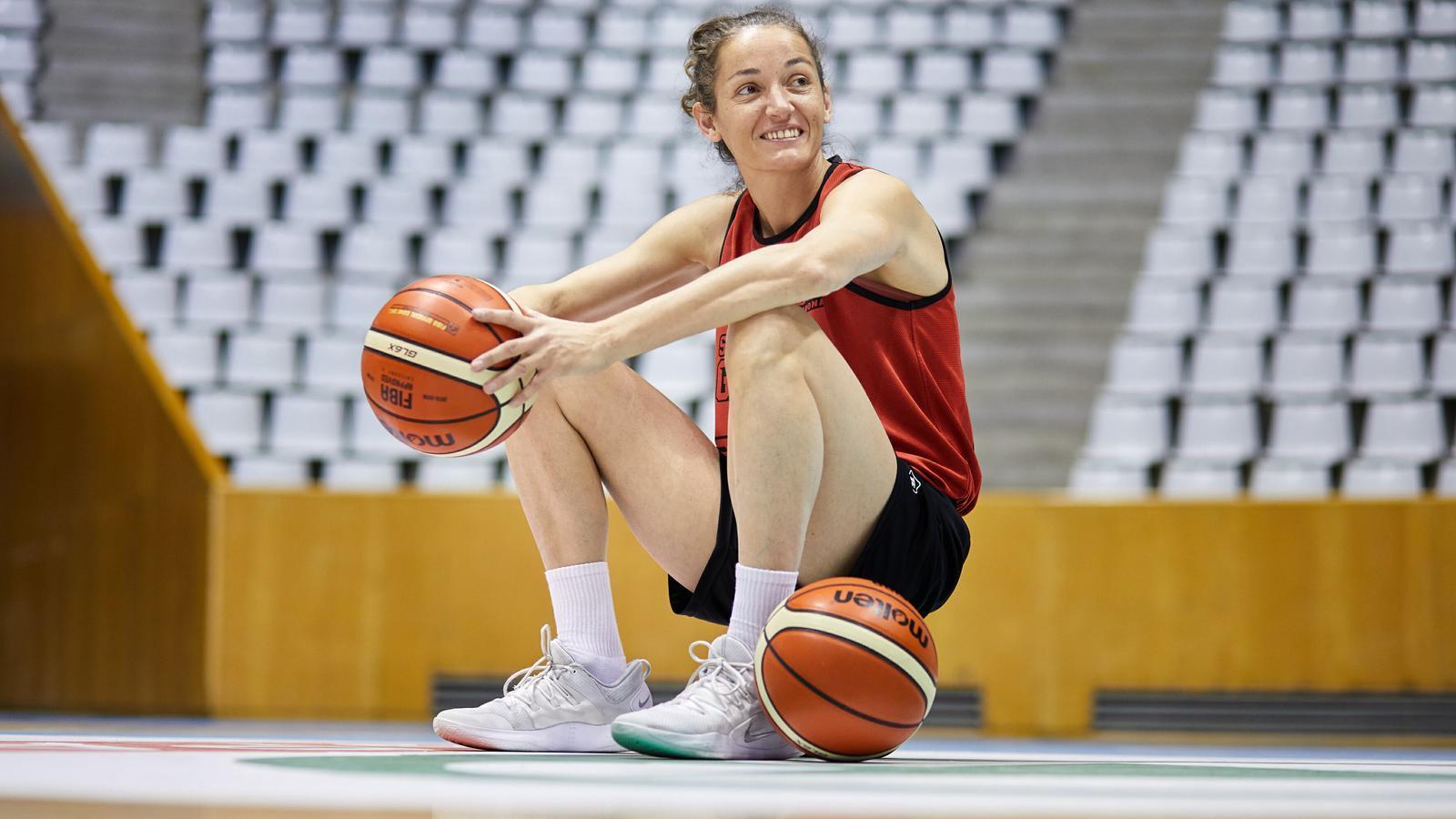 Laia Palau, jugadora de l'Spar Citylift Girona