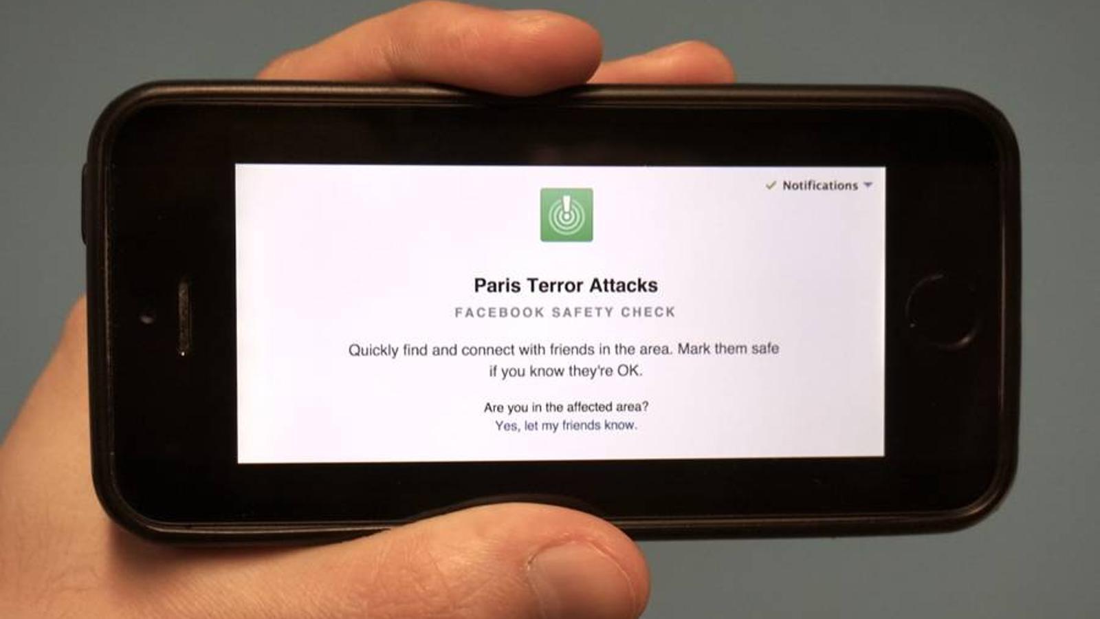 Video explicatiu de Facebook Safety Check