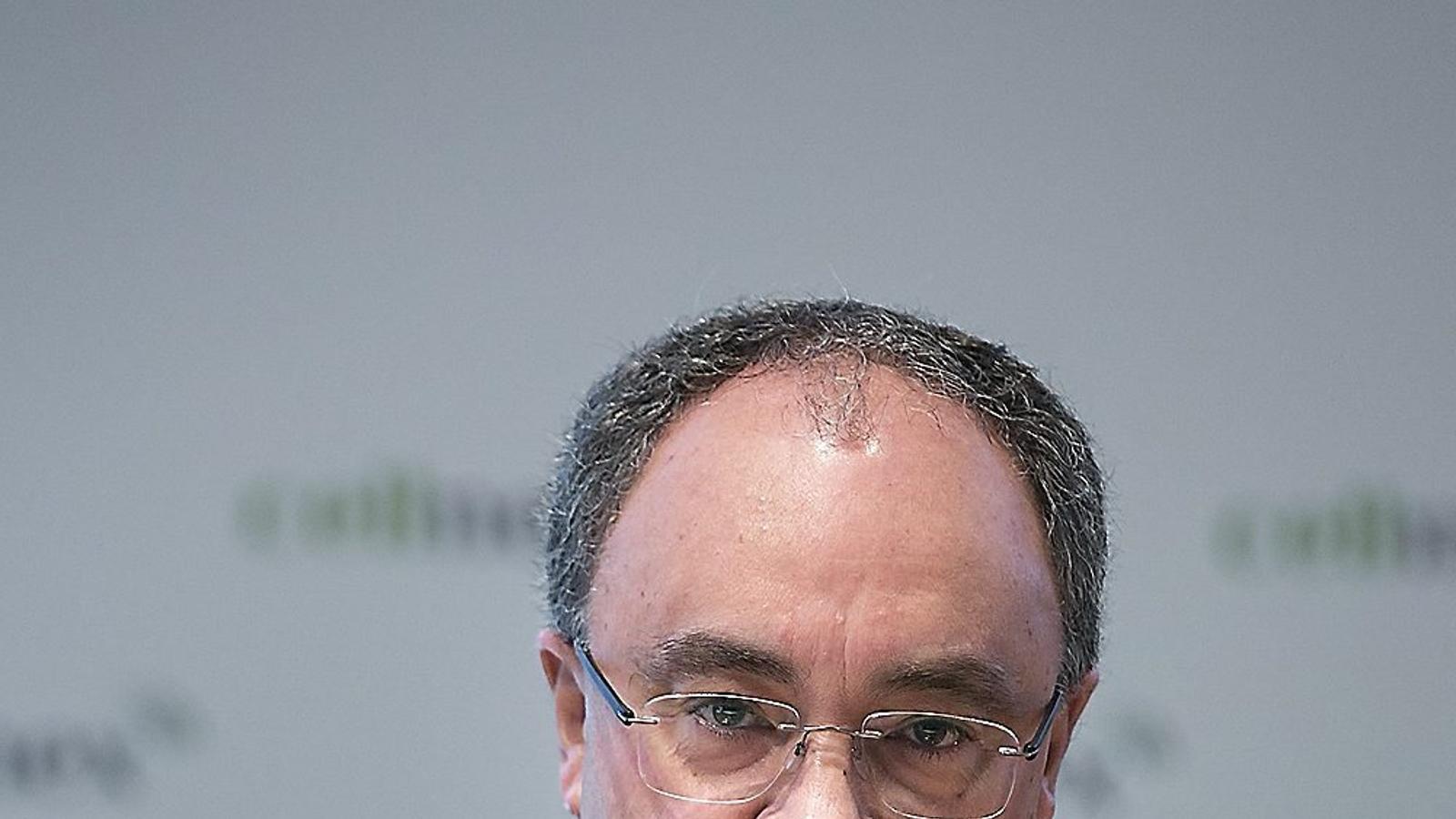 El conseller delegat de Cellnex Telecom, Tobías Martínez.