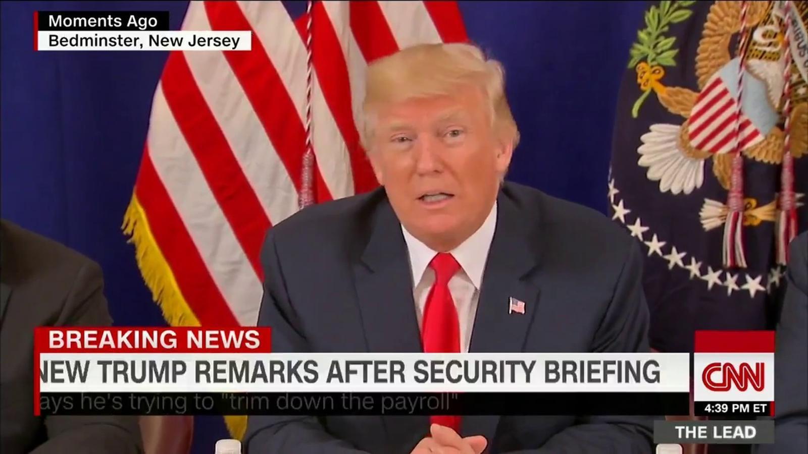 Trump agraeix a Putin que hagi expulsat els seus diplomàtics per que així estalvia diners