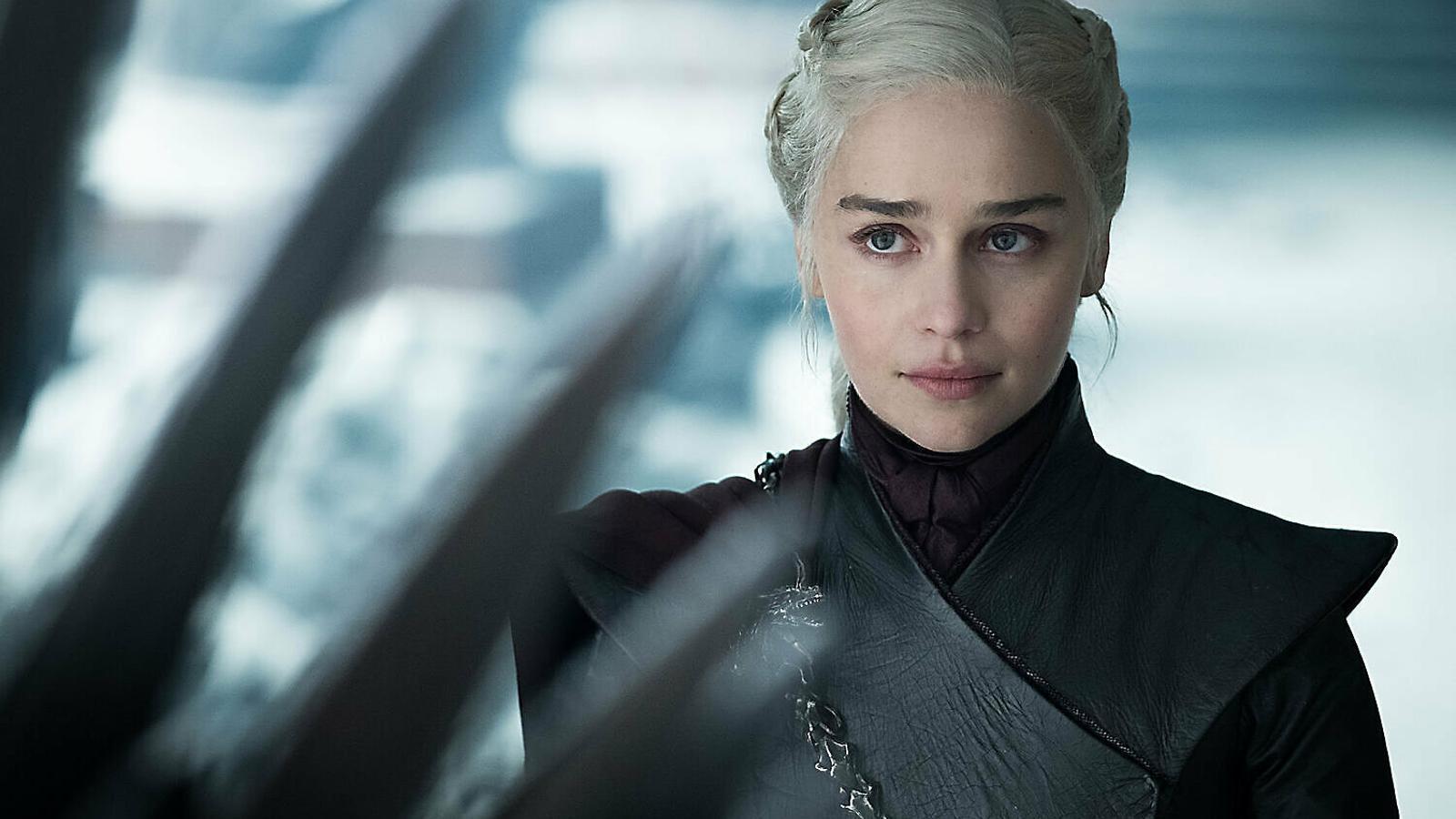 Daenerys Targaryen (Emilia Clarke) a l'últim capítol de Joc de trons.