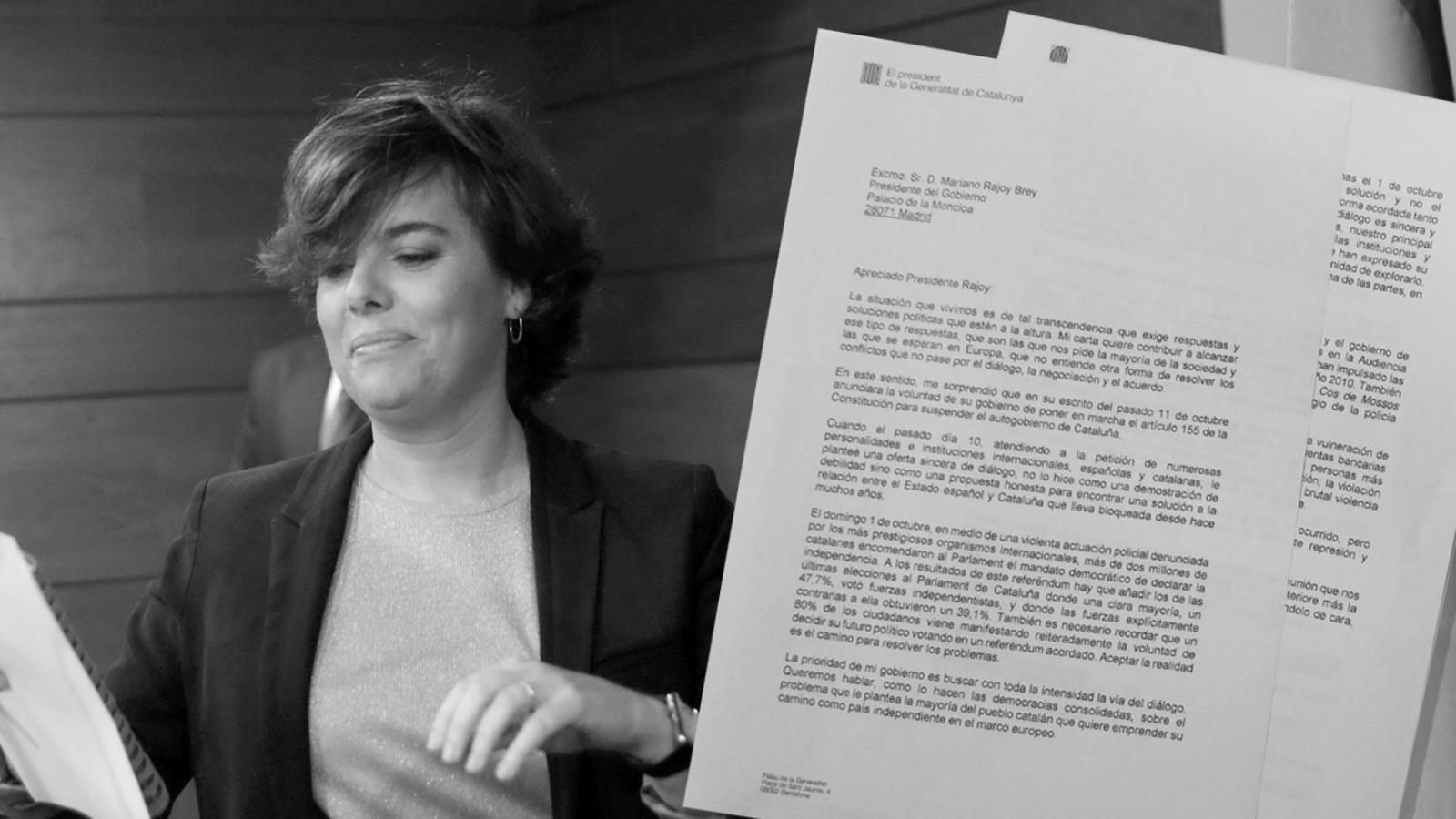 """L'anàlisi d'Antoni Bassas: 'Davant l'oferta catalana de diàleg, Rajoy contesta """"rendició""""'"""