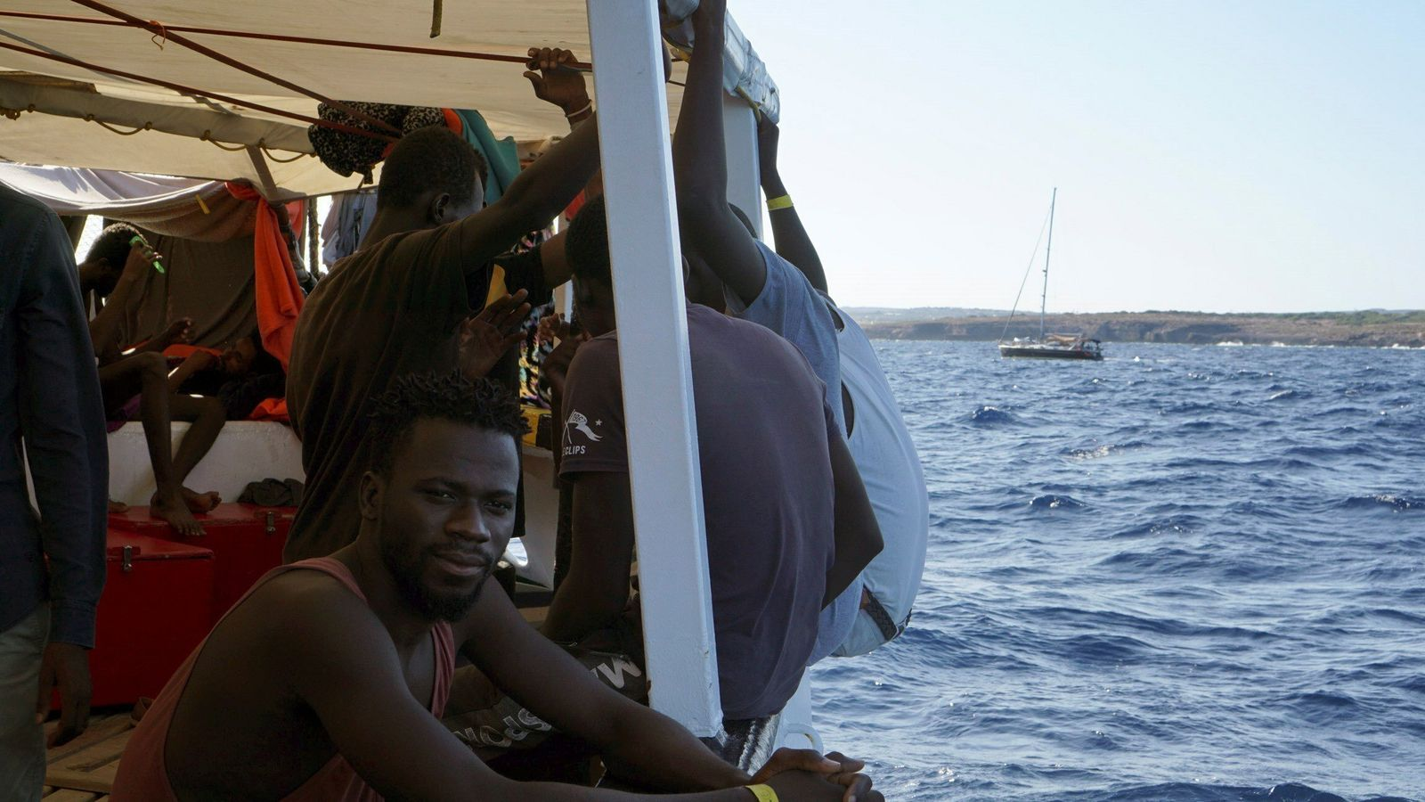 Encallats a Lampedusa