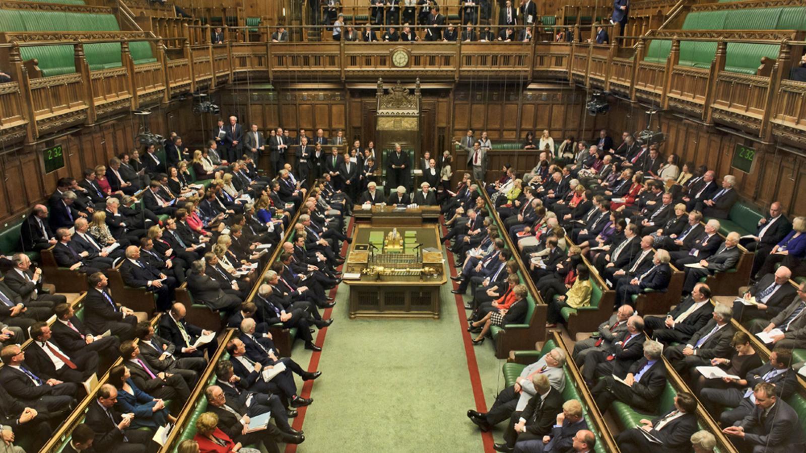 Un aspecte de la Cambra del Comuns del Parlament britànic / HOC