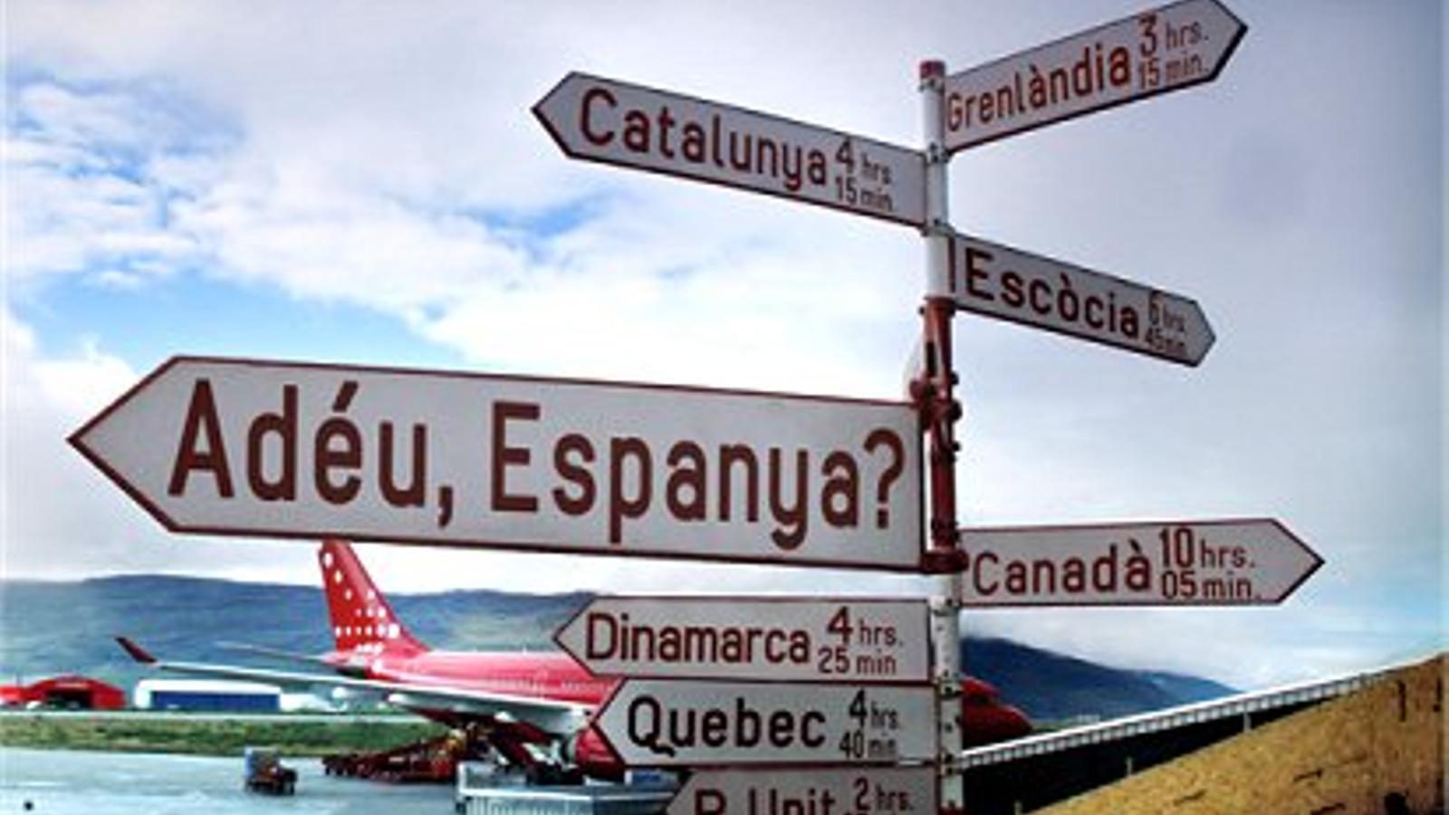Imatge del documental 'Adéu, Espanya?', de TV3