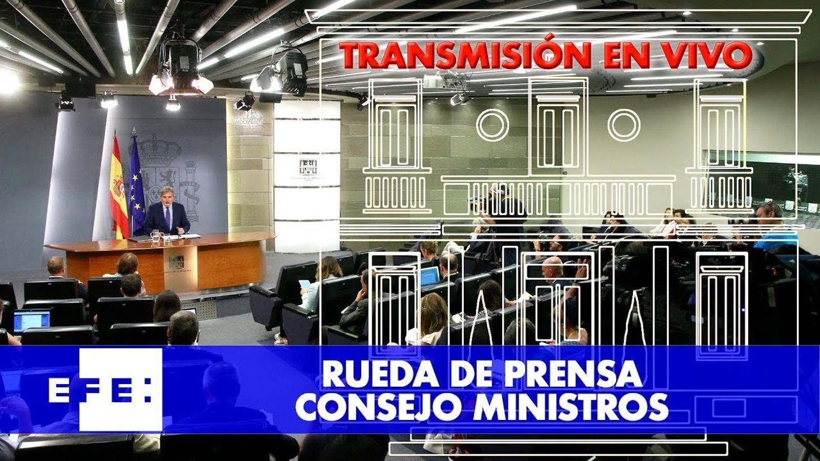 Consell de Ministres presentació dels PGE 2018