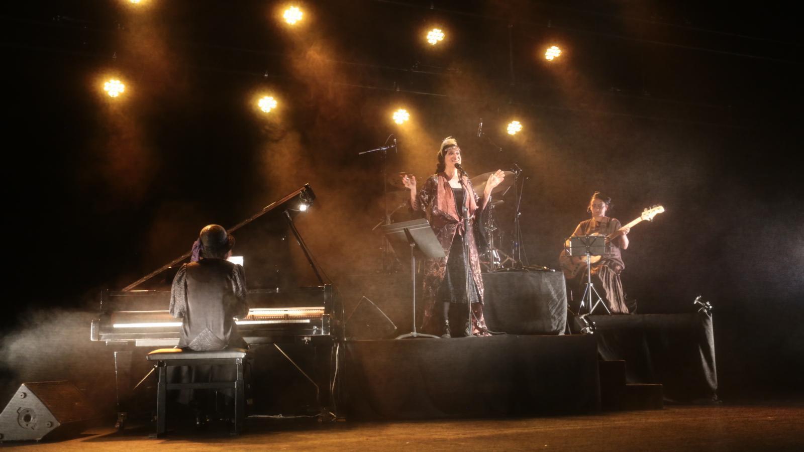 La banda Morgana Jazz ha amenitzat musicalment la gala