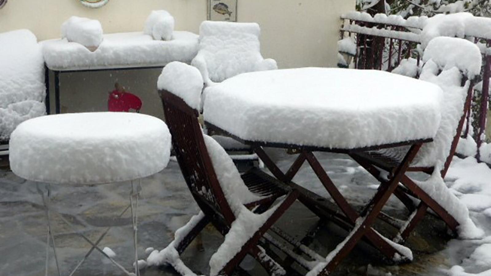 Les vostres fotos de la nevada tardana
