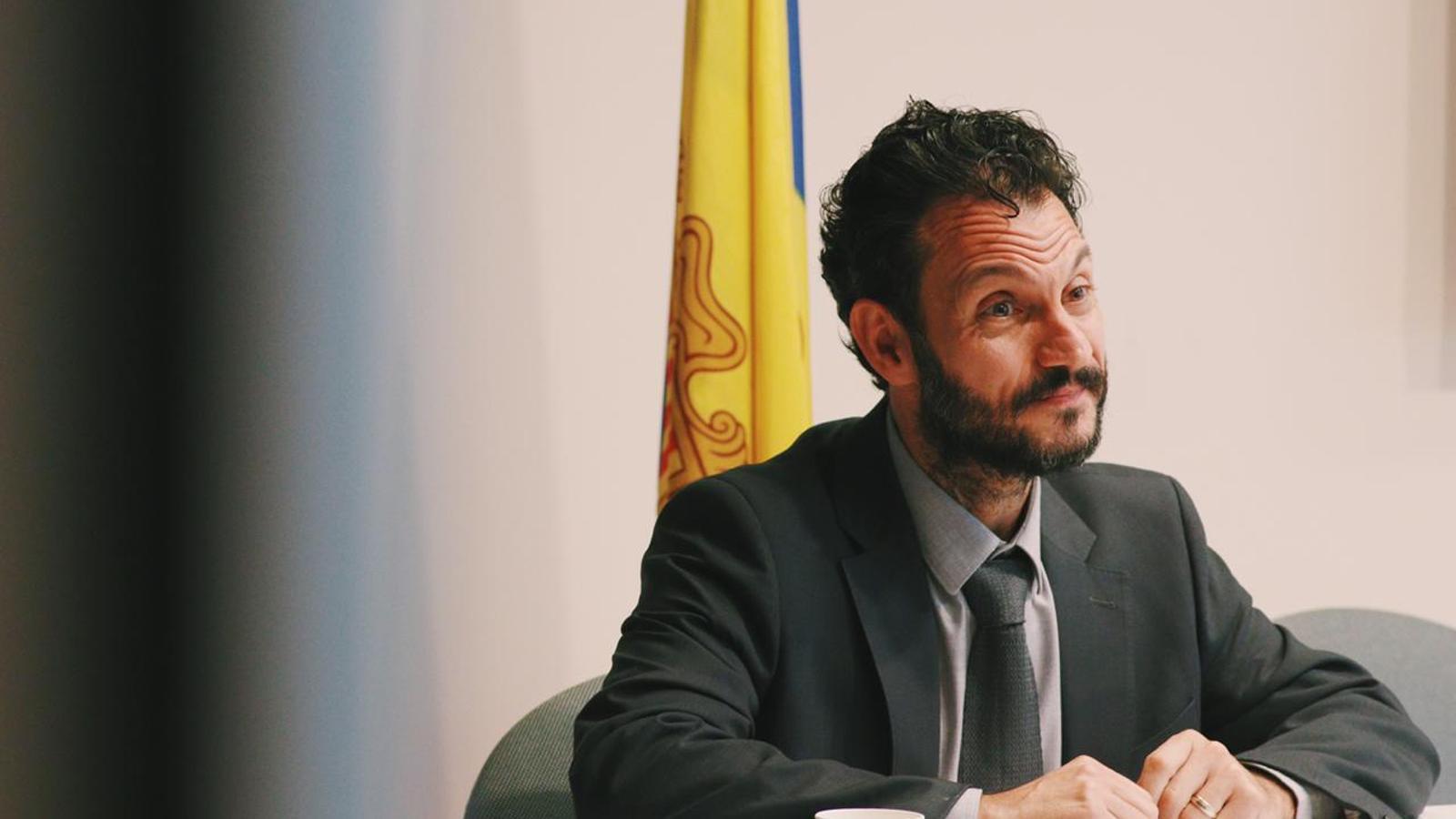 el primer secretari del PS, Gerard Alís. / PS