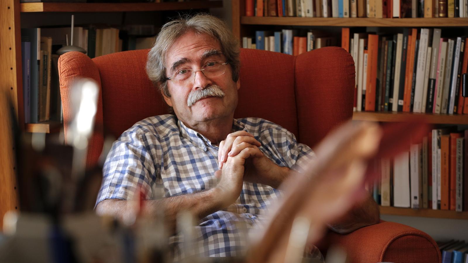 L'escriptor Jaume Cabré