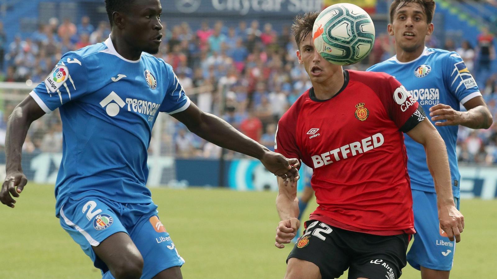 El Mallorca perd a Getafe per 4 gols a 2