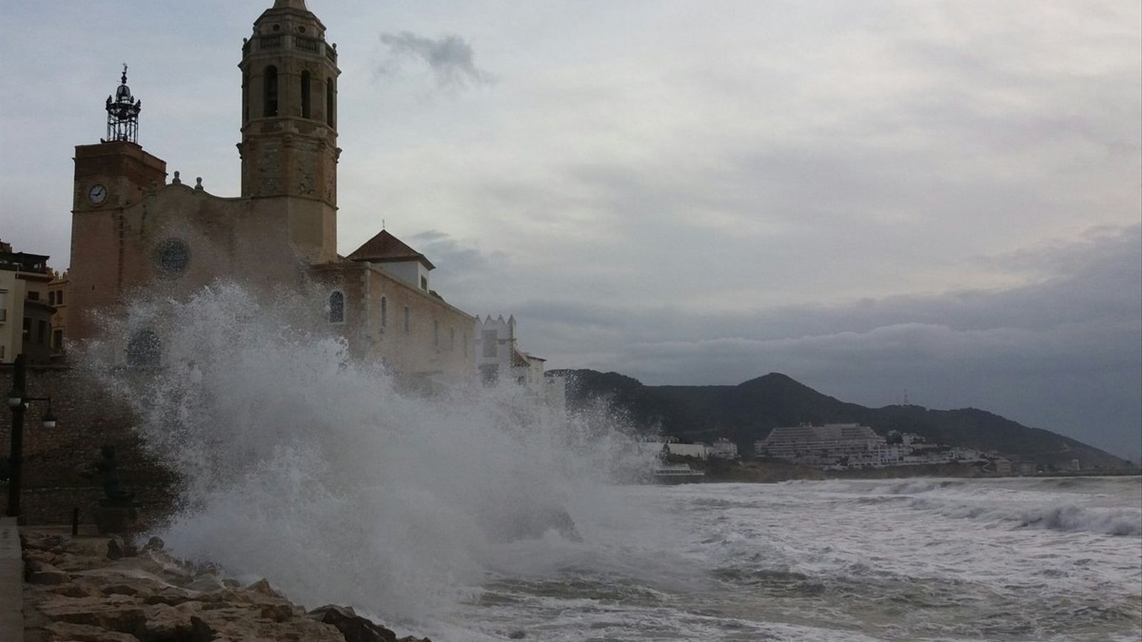Temporal de vent i mala mar durant tot el cap de setmana