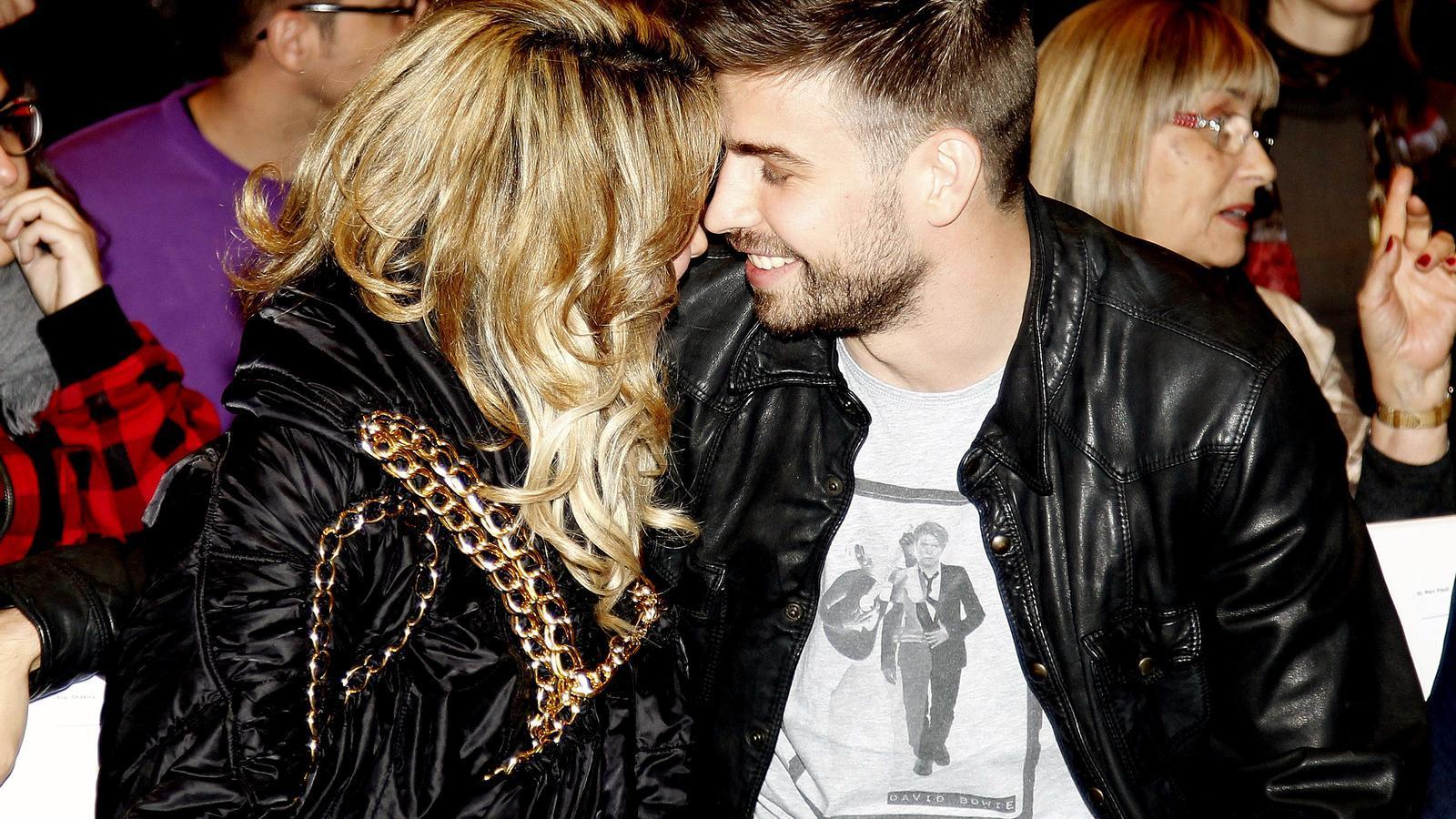 Shakira i Piqué, en una imatge d'arxiu
