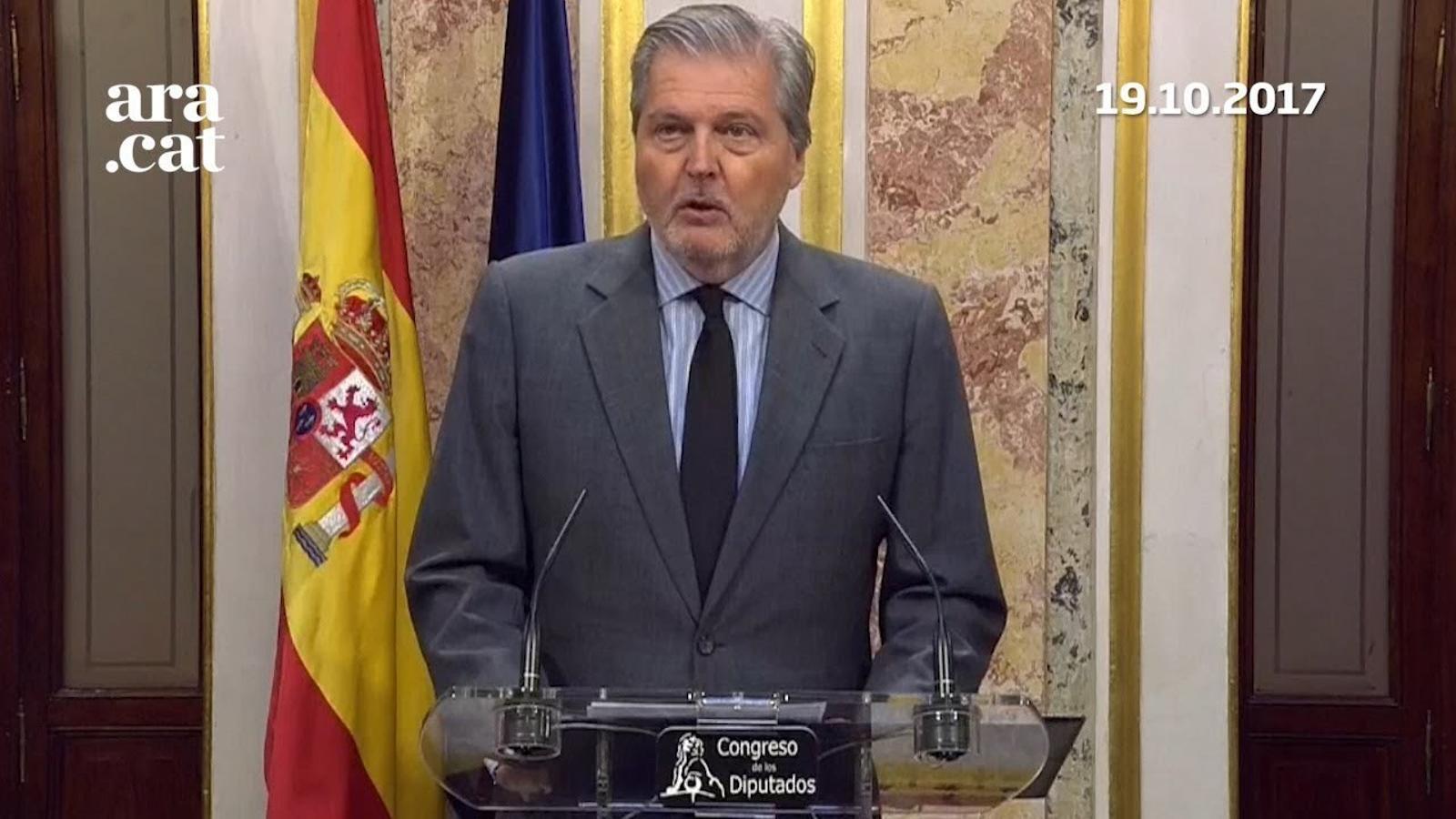 El govern espanyol inicia els tràmits per a l'activació del 155