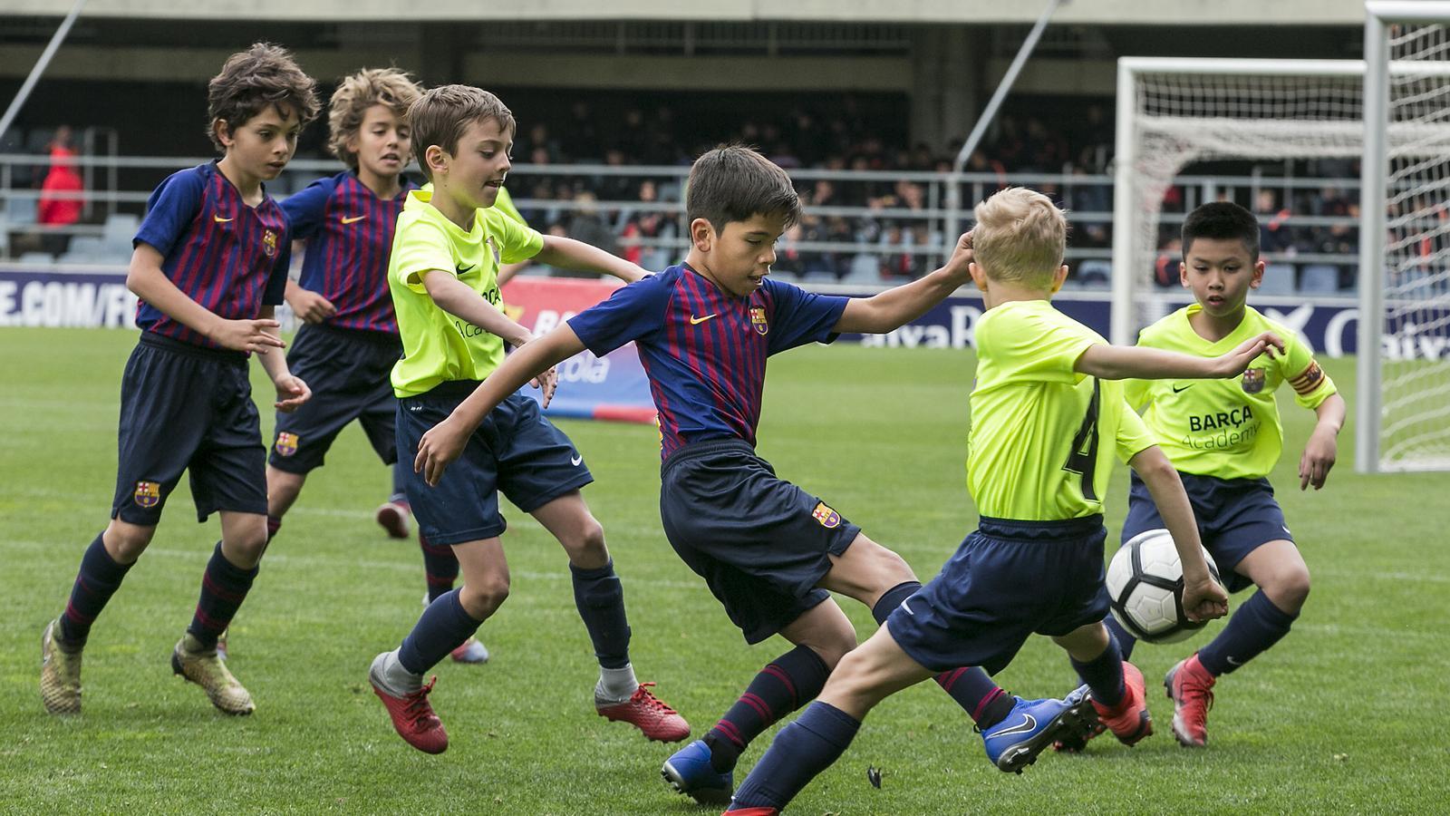 Una imatge d'arxiu de la Barça Academy World Cup