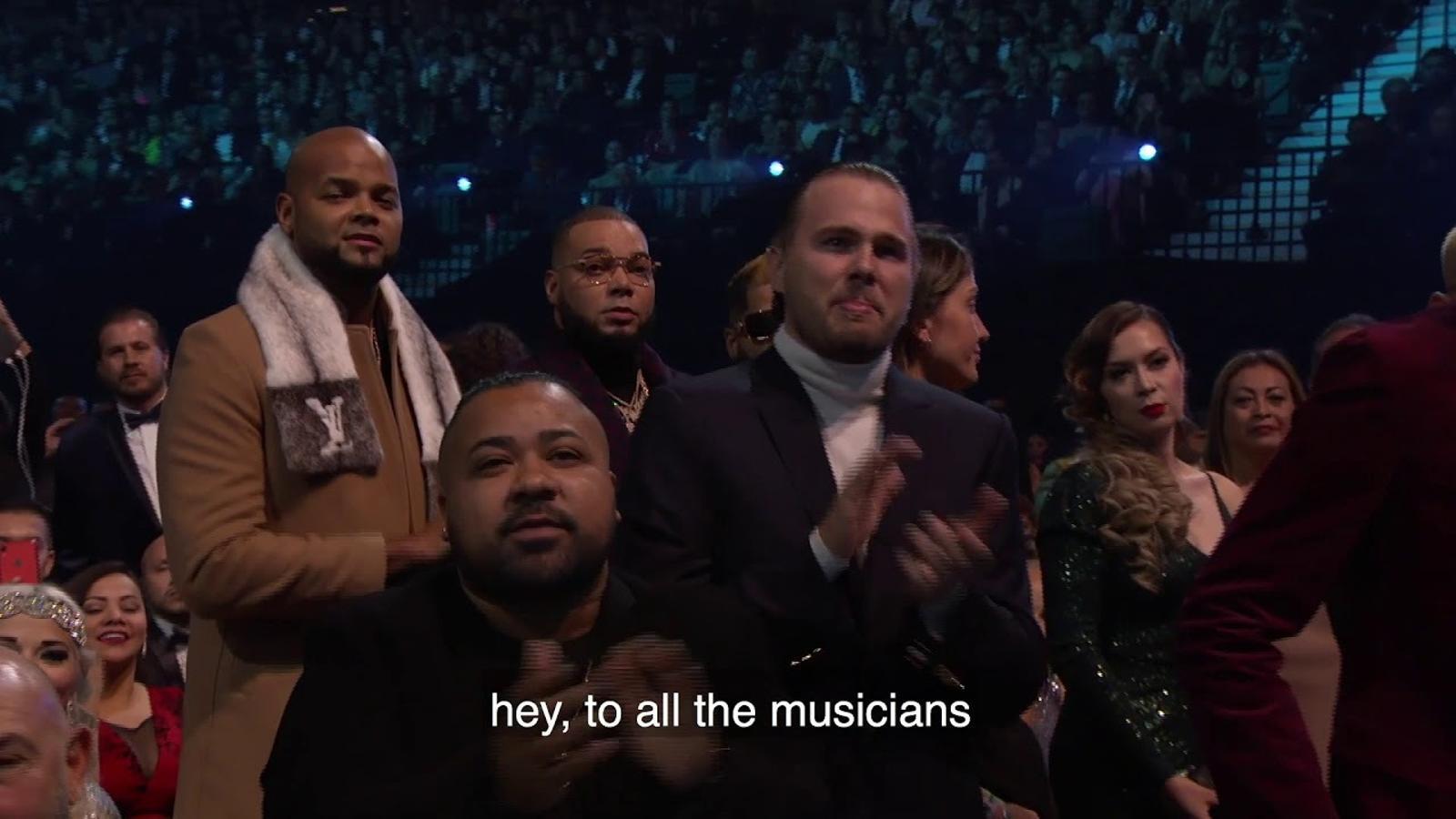 Bad Bunny als Grammy Llatins