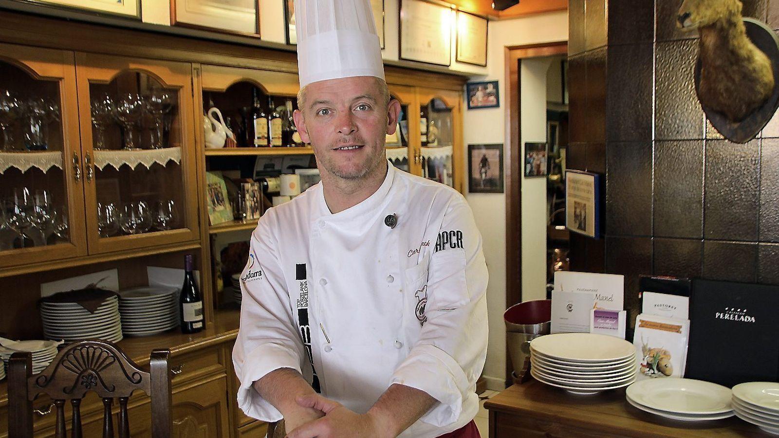 """Carles Flinch: """"Com més soroll fem tots els cuiners, més visibilitat"""" / C.G."""