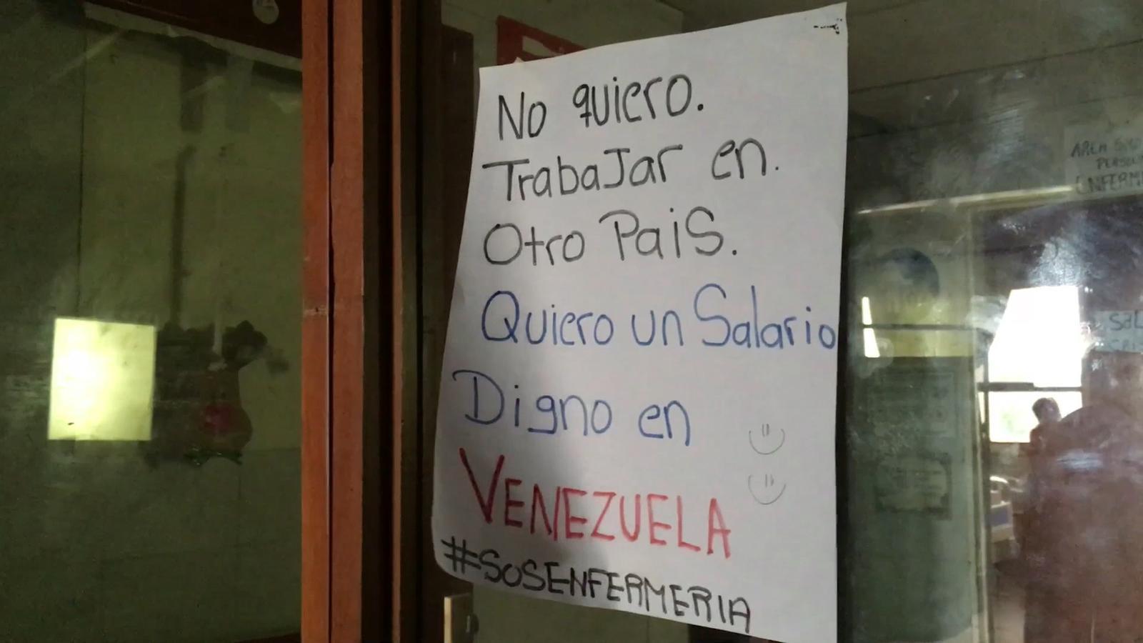 Hospitals a Veneçuela sense lavabos, llum, ni medecines