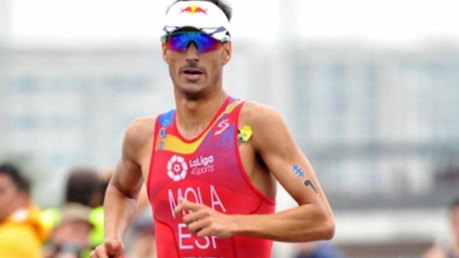 Mario Mola apunta al tercer mundial de Triatló