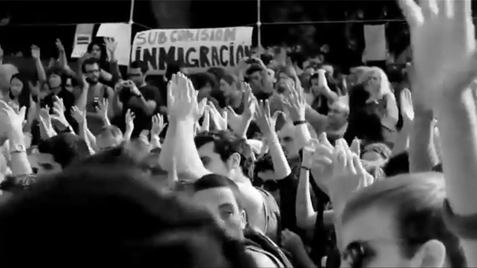 El videoclip de la càrrega policial contra els 'indignats' de Barcelona