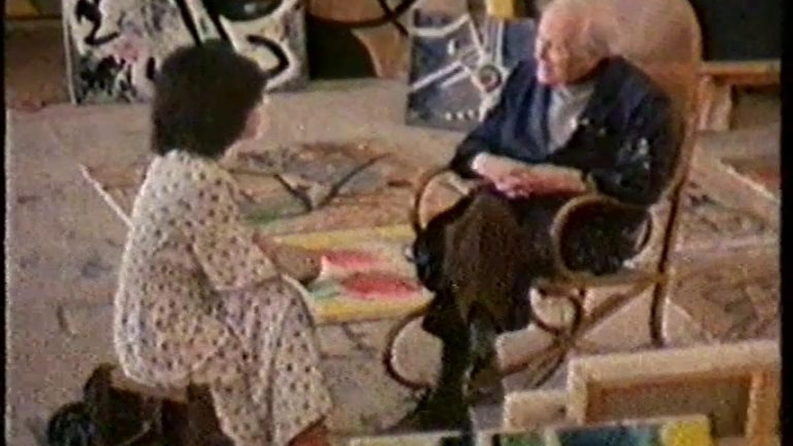 Miró parla de la llibertat, de les renúncies i de la violència