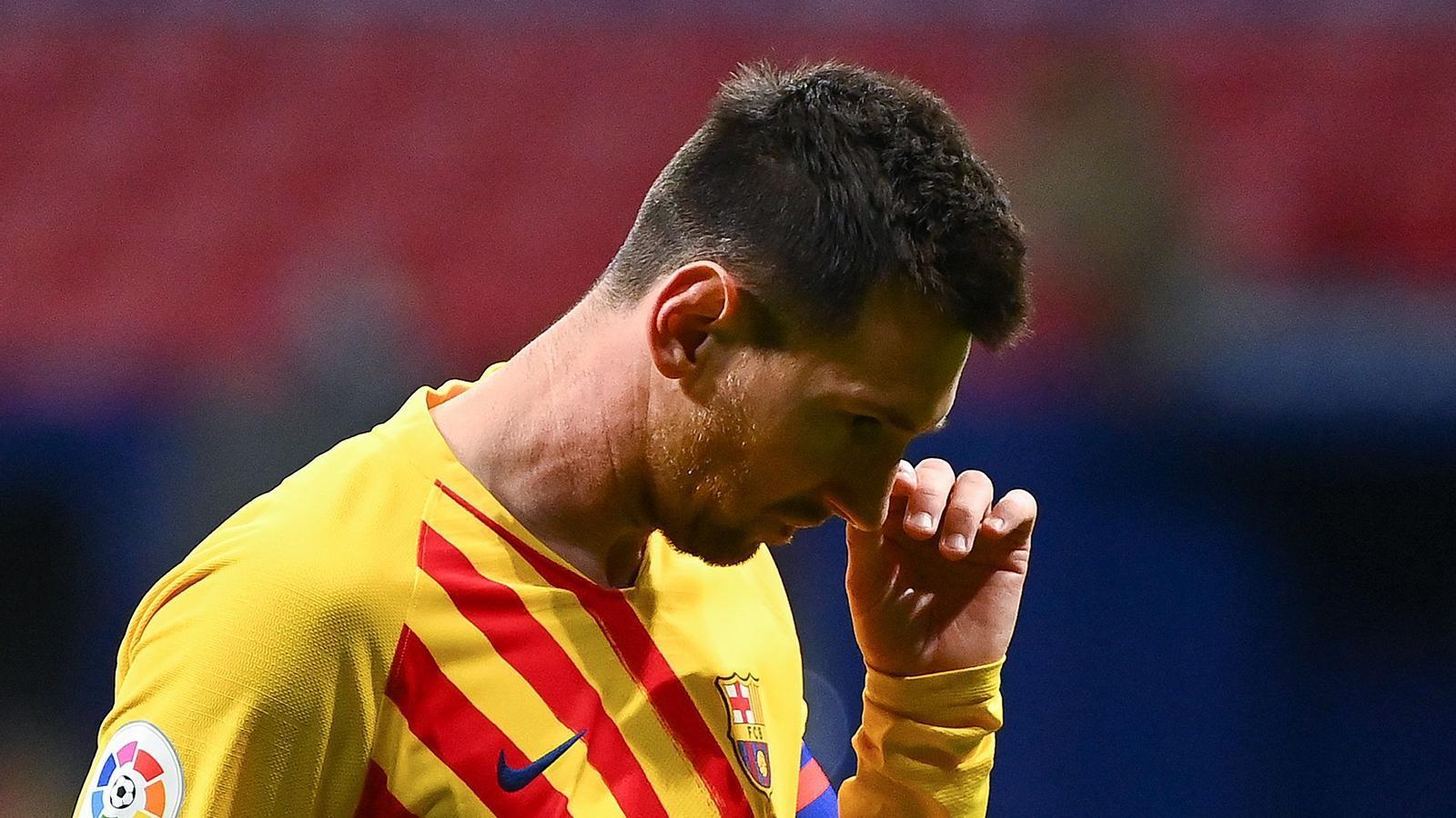 La impotència de Messi