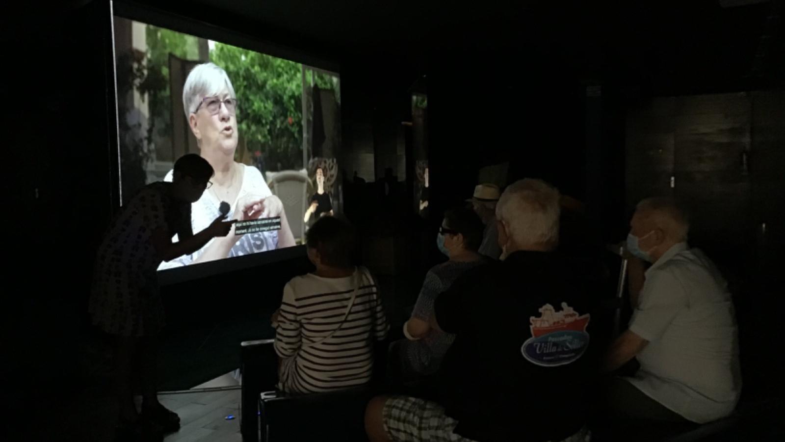 'La remor de la memòria' està exposada a la sala d'audiovisuals del Museu de la Mar de Sóller.