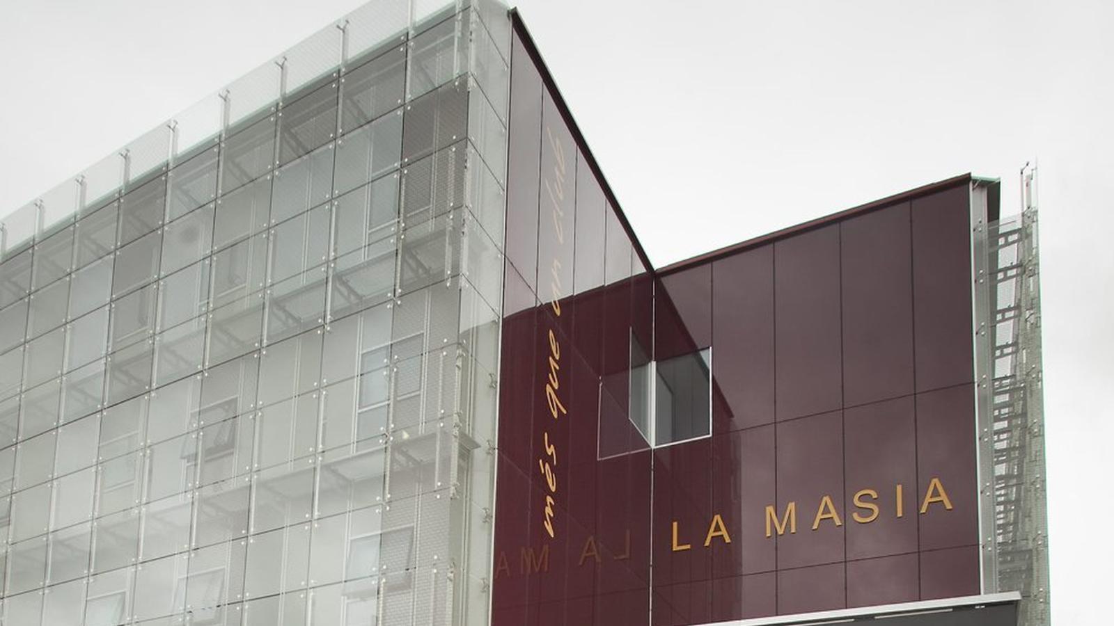 Imatge d'arxiu de la façana de  La Masia.