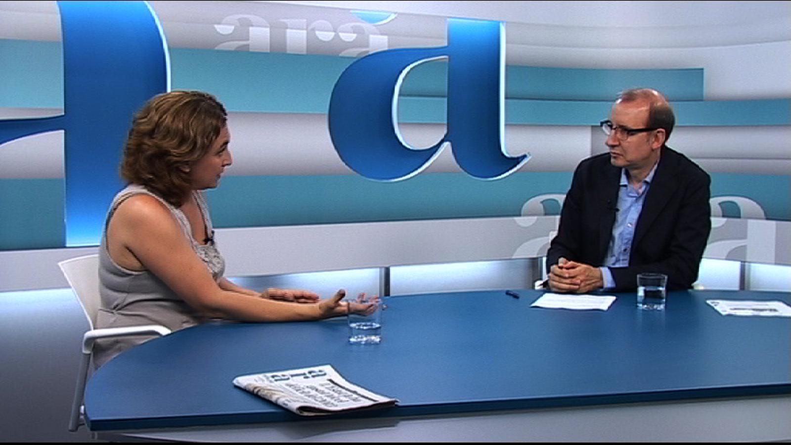 Ada Colau: La llei sobreprotegeix els bancs i és una obligació moral desobeir una llei injusta